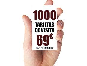 1000 TARJETAS DE VISITA